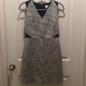 J.crew tweed dress